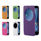 """Premium View Window PU Leather Skin Case Cover For Asus Zenfone 2 ZE551ML 5.5"""""""