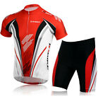 Biking Uniforms Bicycle Wear Kits 3D Gel Padded Shorts Cycling Jersey Sets M-XXL