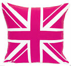 Union Jack 100% Cotton Cushion Cover Traditional British Flag UK Pillows Cases