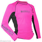 SharkSkin Rapid Dry Long Sleeve Watersports Shirt Scuba Diving Wetsuit Pink