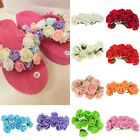 144PCS Colourfast Foam Rose Artificial Flower Craft  Bouquet for Wedding Party