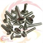 M8 Carriage Bolts - A2 Stainless Steel - Coach Cup Square Screws Bolt - DIN603