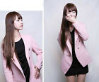 Hot Sale New Design Lady One Piece Long Straight 2 Clips In Hair Wigs