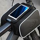 Bicycle Cycling Bike Pannier Front Tube Bag Accessories Mobile Phone Pouch