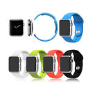 Silicone Strap Bracelet Fitness Sport Band Replacement for Apple Watch 38/42 MM