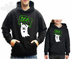 GHOST BOO HOODIE, HUMOUR,MENS, LADIES CHILDRENS, *all sizes available* GHOST BOO