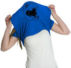 Ask Me About My Blue T-Rex T Shirt Funny Flipup Jurassic Dinosaur Tee For Women