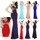 New MERMAID Sexy Masquerade Evening Bridesmaid Prom Party Formal Gown Long Dress