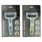 ETHOS 3-IN-1-MULTI PEELER WITH STAINLESS STEEL BLADES (2 COLOURS) ITEM: 216053