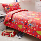Rudolph Reindeer Christmas Tree Thermal Brushed Cotton Flannelette Duvet Set