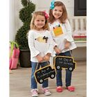 Mud Pie MH5 Baby Toddler Girl Back to School Tunic Crayon & Pencil Design 115...
