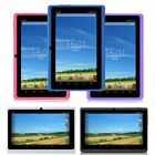 """iRULU Multi-Color 7"""" Android 4.4 Quad Core 1024*600 HD Screen 16GB Tablet PC"""