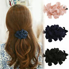 Chic Great Girls Womens Handmade Flower Banana Barrette Hair Clip Hair Pin Claw