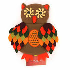 Food Network Wine Bottle Cover Thanksgiving Applique - Football, Sweater, Owl