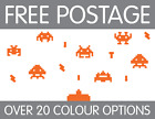 Wall Invader Decals 25pcs Removable Wall Stickers Decor Nursery Pick A Colour
