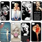 Marilyn Monroe New Style Durable Plastic Snap On Case For iPhone 5/5S