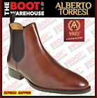 Toledo By Alberto Torresi.  Men's High Quality Slip-On Fashion Boots In Tan. NEW