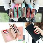 Women Fashion Leather Bifold Wallet Clutch Card Holders Purse Long Handbag BDRG