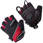 INDIGO PRO CYCLING FINGERLESS CYCLE MITTS, RED & BLACK, RRP £16.99