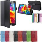 New Leather Smart Case Cover for Samsung Galaxy Tab 3V  7 Inch  T116 Tablet