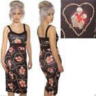 SCUBA WIGGLE PENCIL SKELETON DRESS  ROCKABILLY  GOTH  ALTERNATIVE