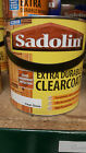 Sadolin Extra Durable Clearcoat Gloss Satin Clear Varnish for Exterior Wood 2.5L
