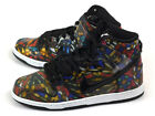 Nike Dunk High Premium SB Gym Red/Black-White Concepts Stained Glass 313171-606