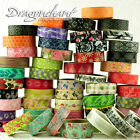 Paper Washi Masking Tape Adhesive Roll Decorative Card Craft Trim Floral Set
