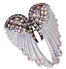 Guardian angel wing brooch pin pendant women biker jewelry gift BD03 gold silver