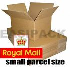 SELECTION OF ROYAL MAIL SMALL PARCEL SIZE POSTAL CARDBOARD BOXES *ALL SIZES*