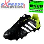 Adidas Junior Kids 11 Nova TRX FG Football Boots Black *AUTHENTIC*