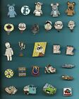 PIXAR UP TOY STORY CARS INCREDIBLES Ratatouille Bugs Life Splendid Disney Pin