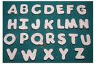 Neat Singles Alphabet Letters for slump mold kiln glass fusing slumping