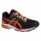 asics® gel-stratus 2 T5F0N 9030 Black/Hot Orange/Deep Ruby Herren + Laufsocken