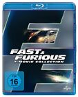 Fast Furious 1+2+3+4+5+6+7 - Movie Collection # 7-BLU-RAY-BOX-NEU (The,and)