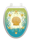 Toilet Tattoos Toilet Lid Cover  Decor Shell Game Removable