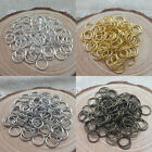 Wholesale 4/5/6/7/8/10/12mm Jump Rings Open Connectors Beads