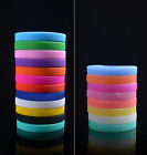 Expected Soft Rubber Flexible Wristband Wrist Band Cuff Bracelet Bangle Hot EWUK