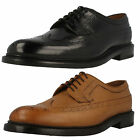 Mens Clarks Edward Limit Leather Smart Lace Up Brogue Shoes G Fitting