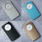 View Window Wallet Leather Flip Magnetic Battery Housing Cover Case For LG G3