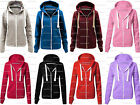 NEW KIDS GIRLS BOYS UNISEX PLAIN FLEECE HOODED ZIP JACKET HOODIE 5 TO 13 YEARS