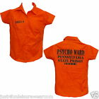 BOYS PRISON PSYCO WARD SHIRT FANCY DRESS
