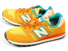 New Balance WL373AF B Gold Yellow & Orange & Beige Lifestyle Retro Sneakers NB