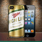 Miller High Life Beer Can iPhone 4-4S 5-5S 5C 6-6 Plus 6S-6S Plus Hard Case