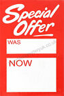 SPECIAL OFFER WAS NOW TAGGING GUN CARD PRICING GUN HANGER SWING TICKETS