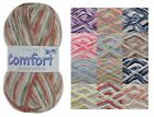 100g Ball Comfort Prints DK Double Knitting Wool King Cole Acrylic & Nylon Yarn