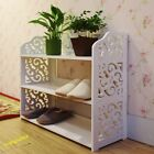 Eco-friendly Cabinet Hollow Out shoes show shelf Shoe Rack Entrance Corridor
