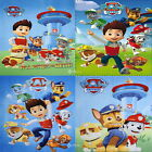 Paw Patrol Fleece Blanket Bed Throw Ryder Chase Rocky Zuma Rubble New Gift