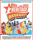 2015 TOPPS HERITAGE HIGH NUMBER TEAM SET U PICK COMPLETE YOUR SET