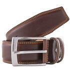 Renato Balestra W658/40 TABAC Tabacco  Leather Mens Belt